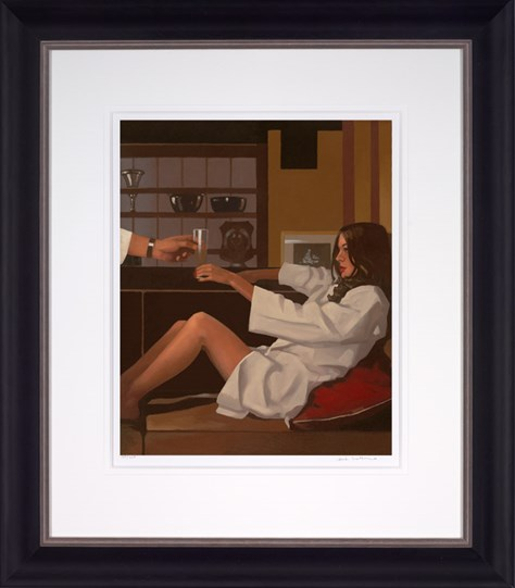 Man of Mystery by Jack Vettriano - Framed Limited Edition on Paper
