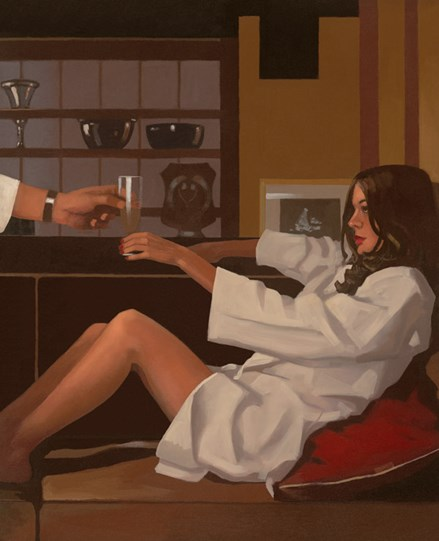 Man of Mystery by Jack Vettriano - Limited Edition on Paper